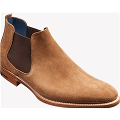 Barker Shoes Style: Lester - Snuff Suede