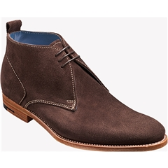 Barker Shoes Style: Lucius- Bitter Choc Suede