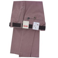 Meyer Trousers Luxury Pima Cotton - Kirsch Red - Online Exclusive