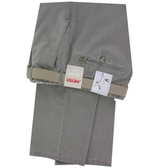 New 2017 Meyer Trousers Luxury Pima Cotton - Olive - Size 40R & 42R Only