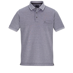 Olymp Polo - Modern Fit - Textured Black