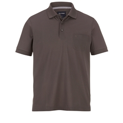 Olymp Polo - Modern Fit - Brown