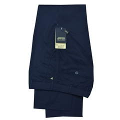 New 2017 Meyer Luxury Cotton Trouser - Navy - 40R Only