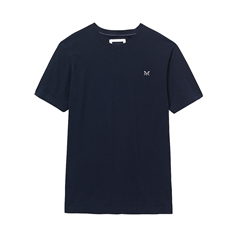 New 2017 Mens Crew Clothing Classic Tee - Navy