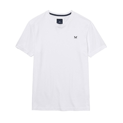 New 2017 Mens Crew Clothing Classic Tee - Optic White