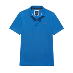 New 2017 Mens Crew Clothing Classic Pique Polo - Marine