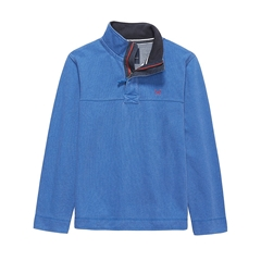 New 2017 Mens Crew Clothing Padstow Pique Sweat - Marine