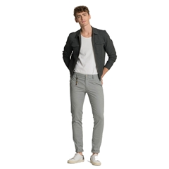 New 2017 Meyer MMX Trousers - Microstructure Chino - Grey