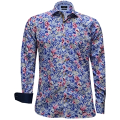 New 2017 Giordano Shirt - Absract Flower Print