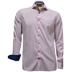 New 2017 Giordano Shirt - Luxury Neat Pink