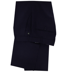 New 2017 Meyer Luxury Italian Wool Trouser - Navy - Online Exclusive