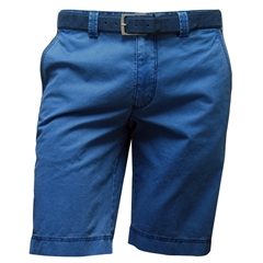 New 2017 Meyer Pima Cotton Shorts - Sea Blue 34, 38 & 40 only
