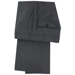 New 2017 Meyer Luxury Italian Wool Trouser - Grey - Online Exclusive