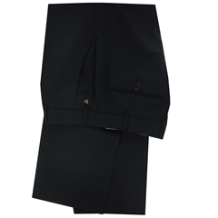 New 2017 Meyer Luxury Italian Wool Trouser - Black - Online Exclusive