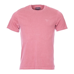 New 2017 Barbour Lifestyle Collection Mens Garment Dyed Tee - Fushia
