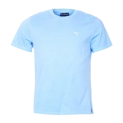 New 2017 Barbour Lifestyle Collection Mens Garment Dyed Tee - Sky