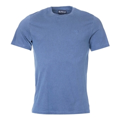 New 2017 Barbour Lifestyle Collection Mens Garment Dyed Tee - Navy