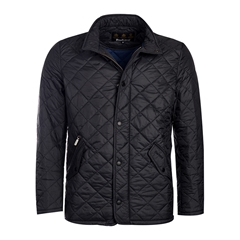 New 2017 Barbour Mens Flyweight Chelsea Quilted Jacket - Black