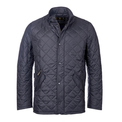 New 2017 Barbour Mens Flyweight Chelsea Quilted Jacket - Navy