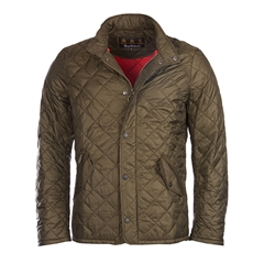 New 2017 Barbour Mens Flyweight Chelsea Quilted Jacket - Olive