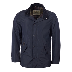 New 2017 Barbour Mens Classic Fit Spoonbill Waterproof Jacket - Navy