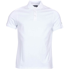 New 2017 Barbour International Mens Lydden Polo Shirt - White - Size L Only