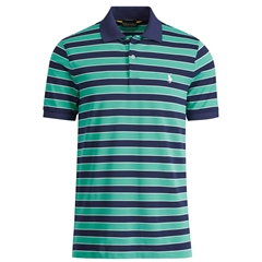 New 2017 Ralph Lauren Custom-Fit Performance Polo - Atlas Green Multi - Size XL