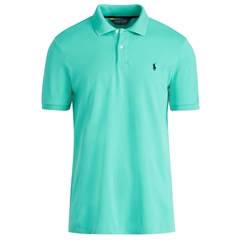 New 2017 Ralph Lauren Custom-Fit Stretch Mesh Polo - Atlas Green - Size M & XXL