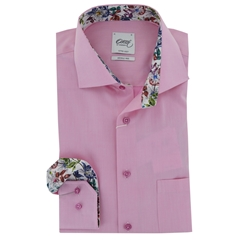 New 2017 Oscar Shirt - Pink with Contrast Trim