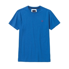 New 2017 Mens Crew Clothing Classic Tee - Lapis Blue Marl