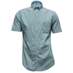 New for 2017 Fynch-Hatton Premium Cotton Short Sleeve Shirt - Jade - Size L