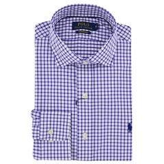 New 2017 Polo Ralph Lauren Shirt - Plum White