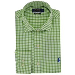New 2017 Polo Ralph Lauren Shirt - Green White