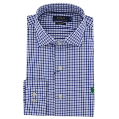 New 2017 Polo Ralph Lauren Shirt - Royal White