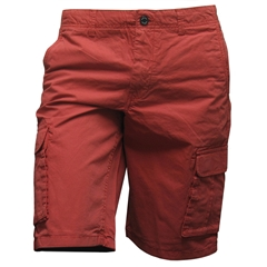 New for 2017 Bruhl Braga Cotton Cargo Shorts - Red