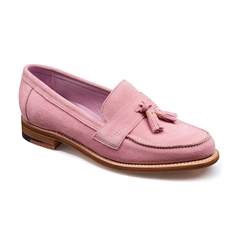 Barker Ladies Shoes Style: Imogen - Pink Suede