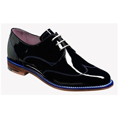 Barker Ladies Shoes Style: Charlie - Navy Patent