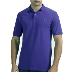 Ralph Lauren Cotton Polo - Periwinkle - Size M, XL  Only