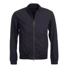 New 2017 Barbour Mens Ashton Casual Jacket - Navy