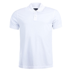 New 2017 Barbour International Mens Polo Shirt - White - Size XL