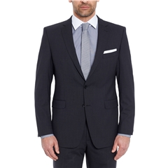 Digel Suit - Modern Fit Performance Wool Mix - Power Suit - Black
