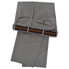 Meyer Luxury Cotton Trousers - Olive - Special Selection Range