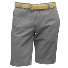 Meyer Cotton & Silk Shorts - Taupe