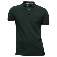 New For Autumn Hackett New Classic Polo Shirt - Dark Green
