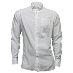 New For Autumn Hackett Brompton Shirt - White