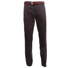 Autumn 2017 Meyer Trousers Micro Design Cotton Charcoal - Chicago 5533-08