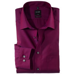 New Autumn 2017 Olymp Modern Fit Shirt - Fuchsia