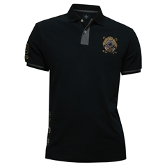 New For Autumn Hackett Snow Contrast Polo Shirt - Navy