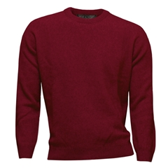 Noble Wilde Possum & Merino Crew Neck - Poppy Red