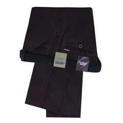 Meyer Trousers Cotton Mulberry - Chicago 5535-57